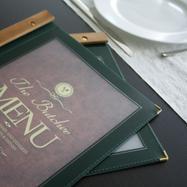 "Karta menu ""Wood"""
