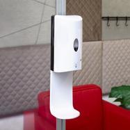 """Dozownik do dezynfekcji rąk """"Sensor-Wall"""" mocowany do ram i profili"""