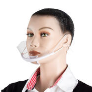 "Przyłbica ochronna / maska na usta i nos ""Visero"""