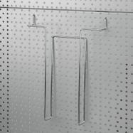 Uchwyt na prospekty do ścianki 4 mm