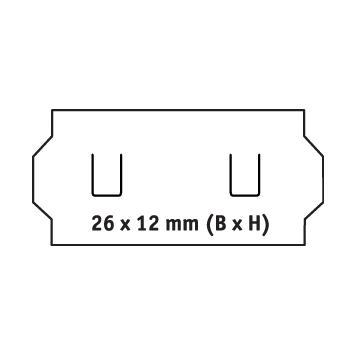 Etykiety do metkownicy,1-liniowe