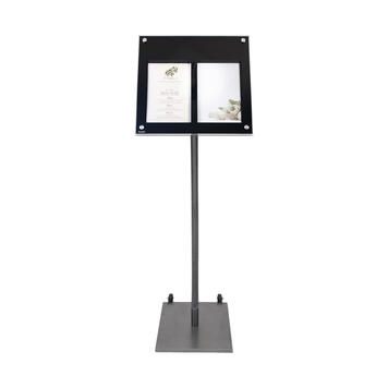 """stojak do tablicy LED """" Menu"""" (tablica LED dostępna oddzielnie: 10.0250.1)"""
