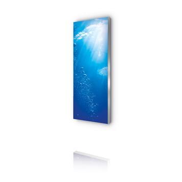 """Podświetlana ścianka LEDowa """"Octalumina 120"""", wersja ścienna"""