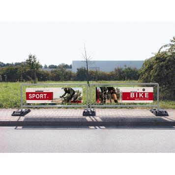 """Stalowy system wtykowy ram banerowych """"Sports"""""""