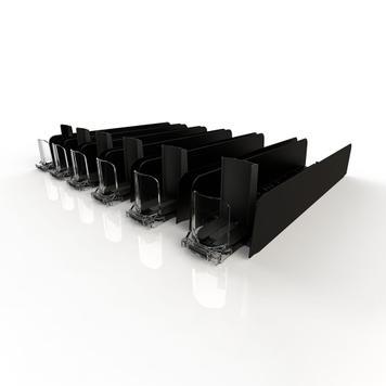 """""""Adjustable Tray"""" - system porządkowania / dopychania towarów"""