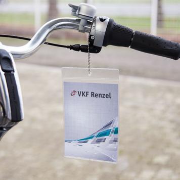 Standardowa osłonka cenowa z miękkiego PCV z wsuwem