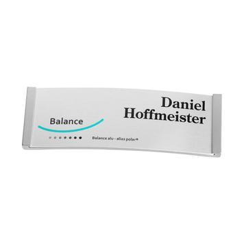 "Identyfikator ""Balance Alu-Complete""; w cenie koszt nadruku"