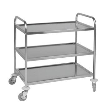 Wózek serwisowy z 3 półkami