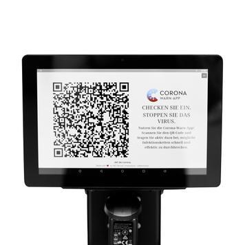Interaktywny POS- Tablet do słupków odgradzających