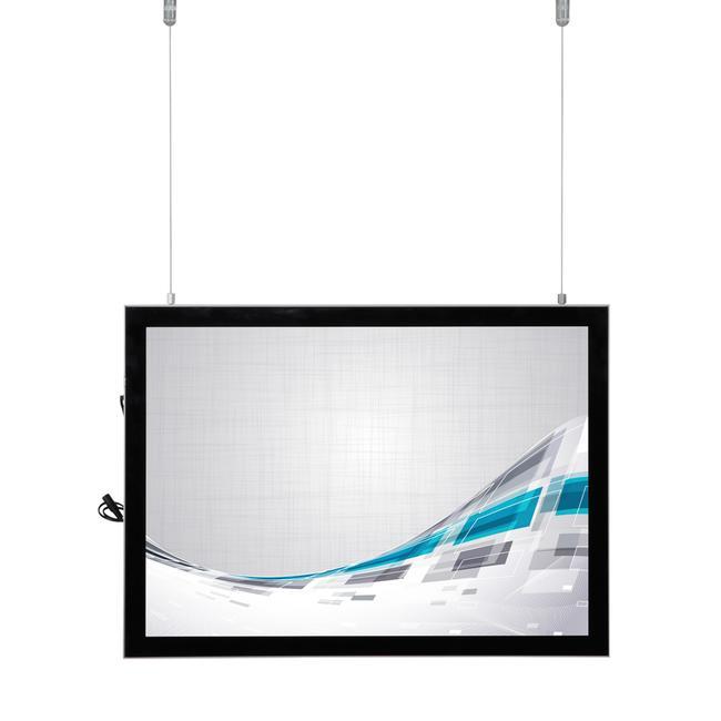 "Dwustronna tablica świetlna ""LED ""Ecomag"""
