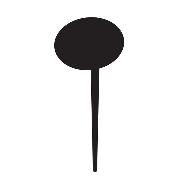 Tabliczka kredowa w formie szpikulca