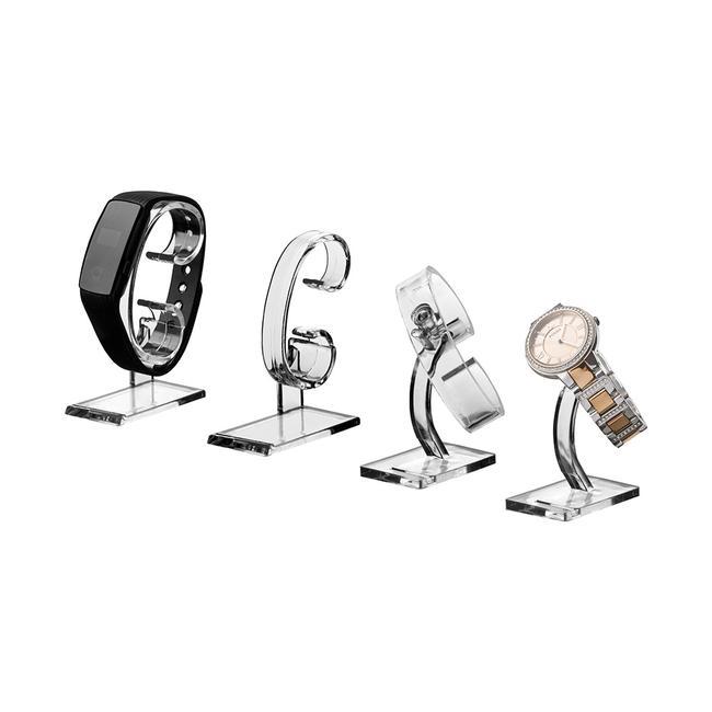 """Podstawka do zegarków """"Linum"""" ze szkła akrylowego"""