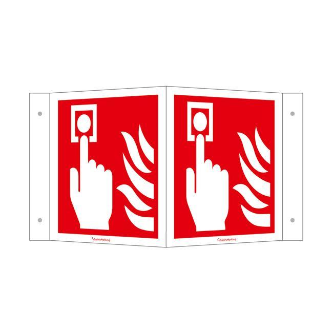 """Tabliczka """"Alarm pożarowy (manualny)"""""""