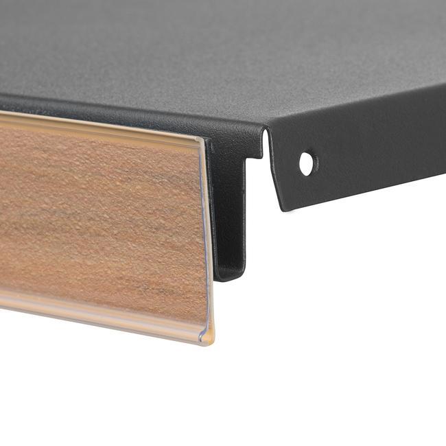 """Listwa cenowa """"DBR 39"""" z motywem drewna"""