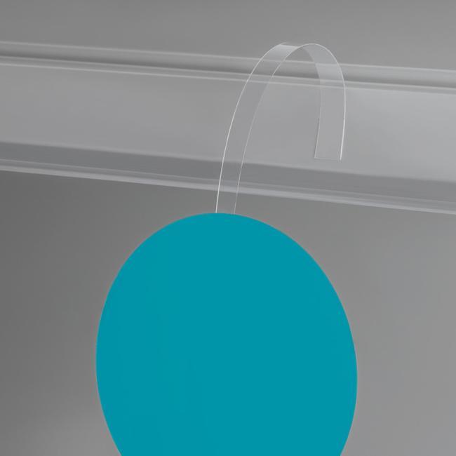 Kiwak szyldowy z krystalicznego PCV