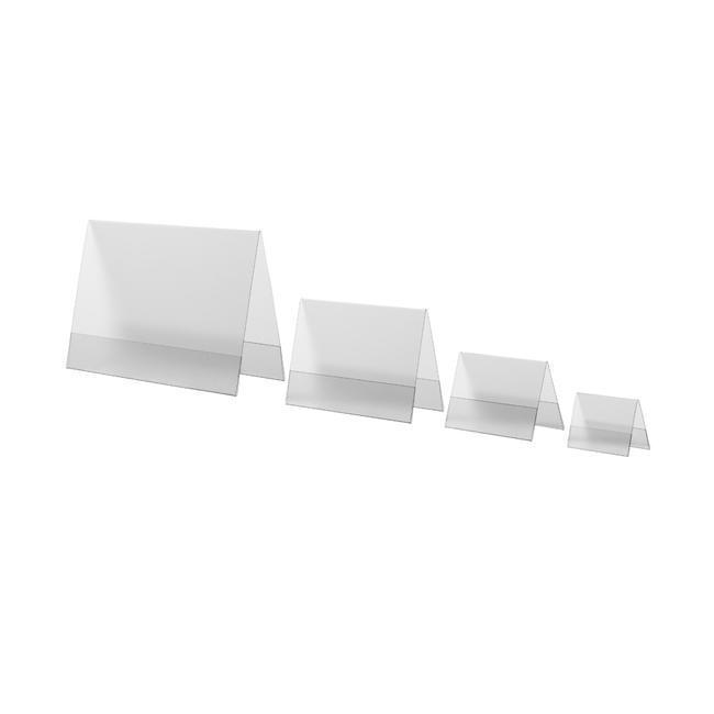 Stojak z twardej folii w formatach DIN