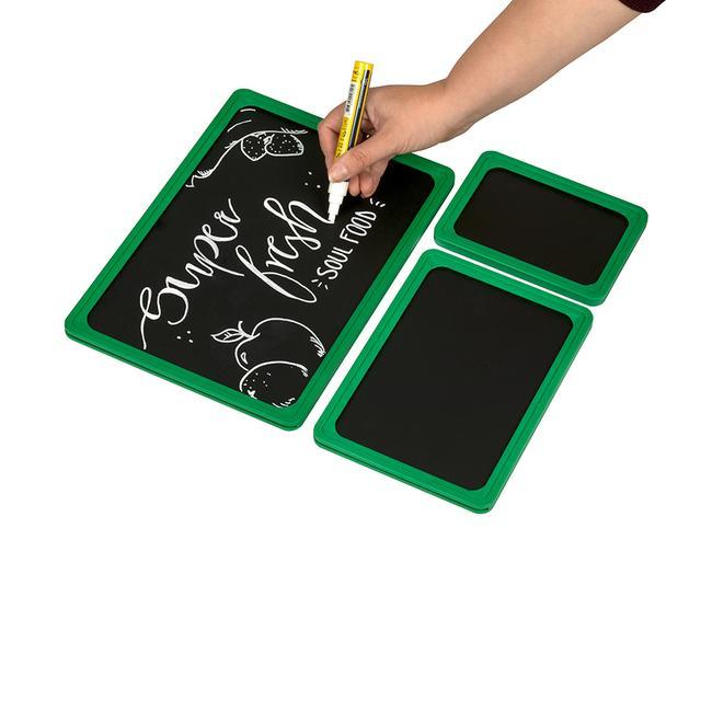 Tabliczki kredowe formatu od A1 do A5