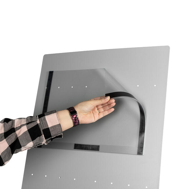 Kieszeń plakatowa z listwami magnetycznymi