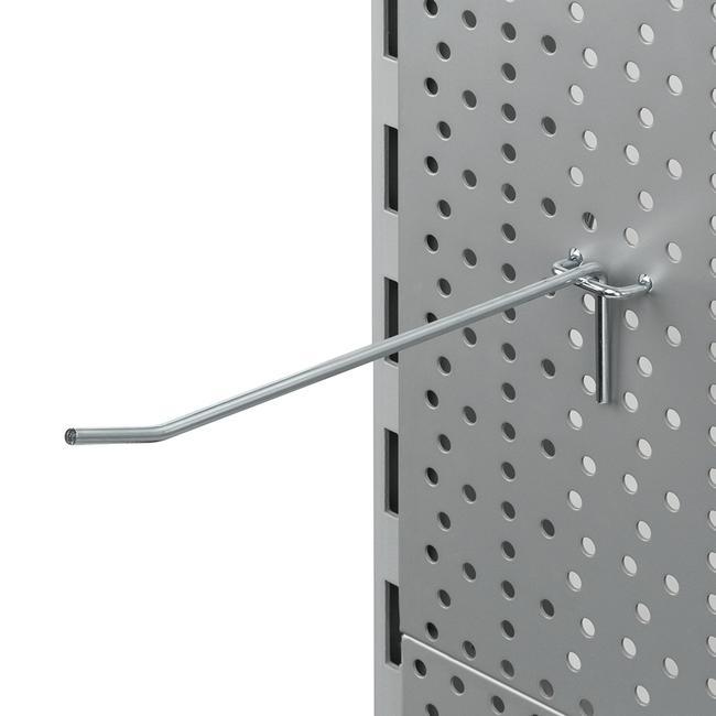 Hak pojedynczy do ścian perforowanych 4mm