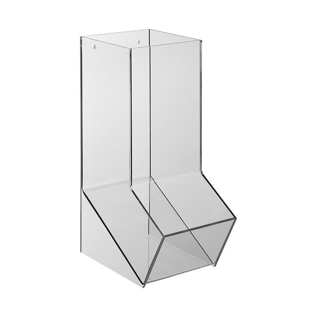 Podajnik towarów ze szkła akrylowego