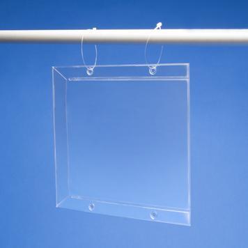 Osłonka cenowa z PVC z dodatkową boczną ochroną