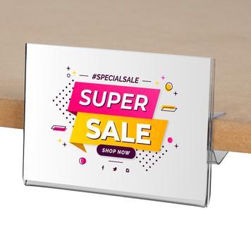 Kieszeń akrylowa 105 x 74 mm,