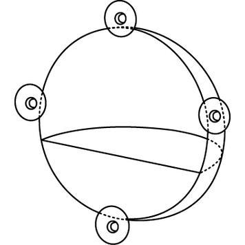 Ekspozytor w kształcie półkuli