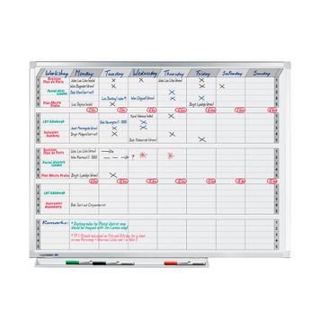 Tablica do planowania pół-, oraz całorocznego
