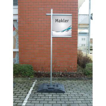 "Stalowy system banerowy   ""Makler"""