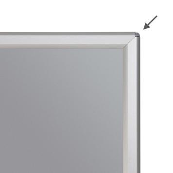 Ramki zaciskowe do postawienia, profil 14 mm