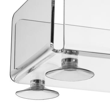 Pojemnik akrylowy z przyssawką
