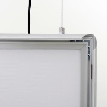 "Podświetlana dwustronna ramka LED ""Simple"""