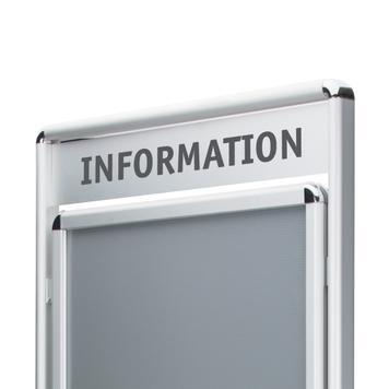 """Stojak plakatowy """"Info"""""""