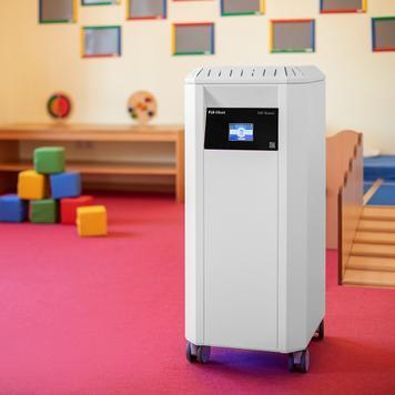 """Profesjonalny oczyszczacz powietrza """"PLR-Silent"""" z filtrem HEPA H14"""